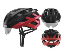 Abus Abus Helm In-vizz Ascent Red Comb M 54-58 Cm