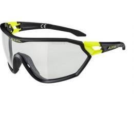 Alpina Bril  S-way Vl+ Black Matt-neon Yellow