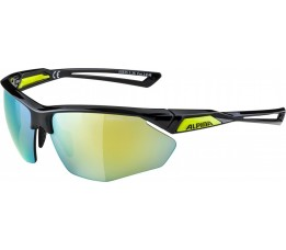 Bril Alpina Nylos Hr Black-neonyellow/ Cat. 3