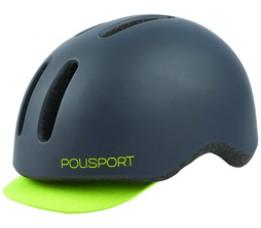 Polisport Helm Commuter L 58-61cm Mat Zwart