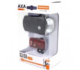Axa Verlichtingset Greenline 35 Lux Usb