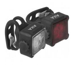 Axa Verlichtingsset Niteline 44 R Usb